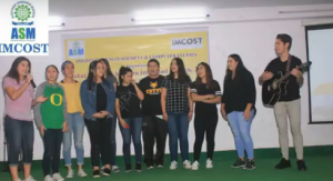 Foreigh University Students Performing at IMCOST