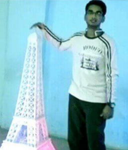 Eiffol Tower Monument by Dr. Nitish Vijay Lad