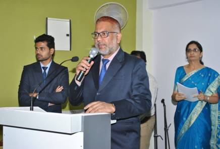 Mindscape, Guest of Honour Dr. M.A. Khan. REGISTRAR – UNIVERSITY OF MUMBAI