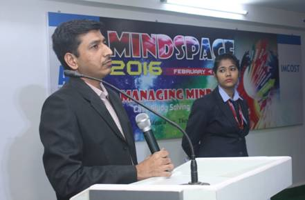 Mindscape, Key note speaker Mr. Sharad Jambukar