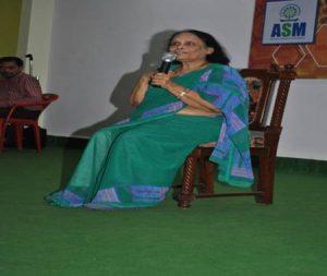 Celebrating Marathi Bhasha Diwas - Chief Guest Dr. Vijaya Wad