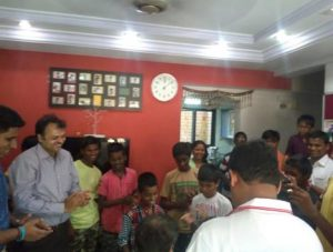 IMCOST Student Visits Corp Hostel