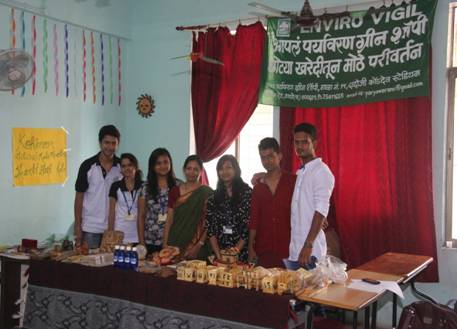 Institute Social Responsibility -ISR activity -Ashadeep @ IMCOST