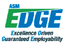 ASM EDGE Program - Logo