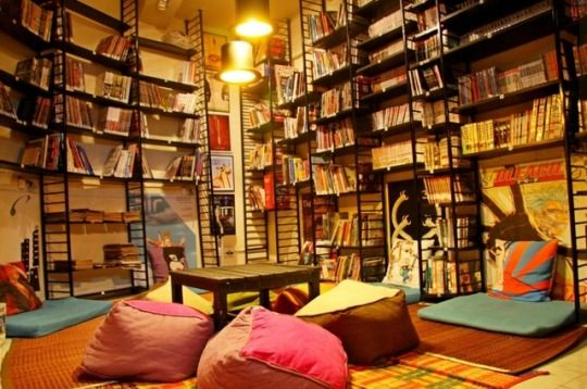 Leaping Windows - Book cafe in Mumbai